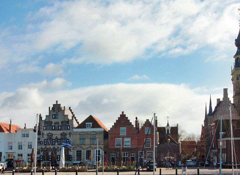 Oude haven van Veere